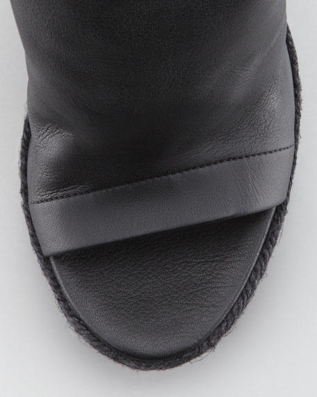 Glove Wedge Espadrille