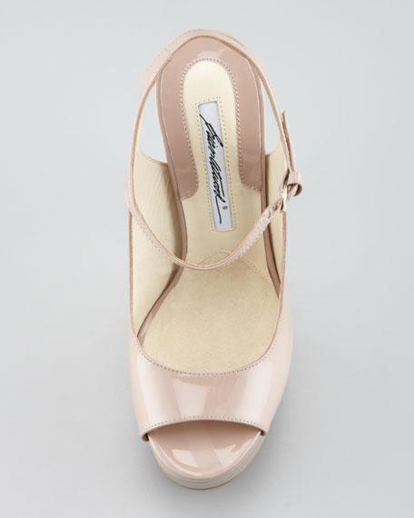 Anais Patent Leather Sandal