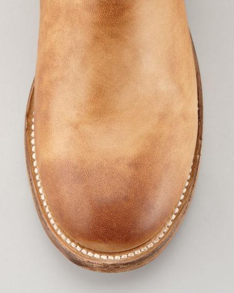 Phoenix Mid-Calf Buckle Boot, Palermo Camel