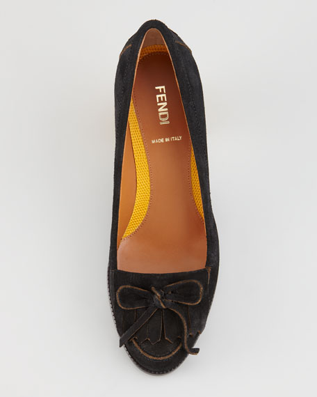 Austen Suede Loafer Pump