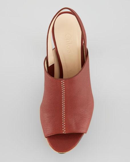 Alice Leather & Cork Platform Sandal