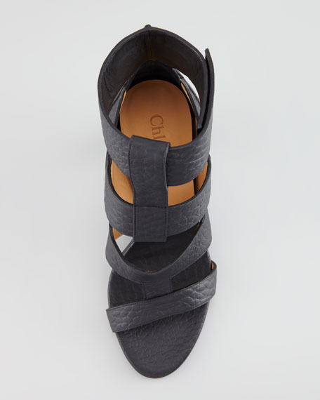 Leather Ladder Sandal