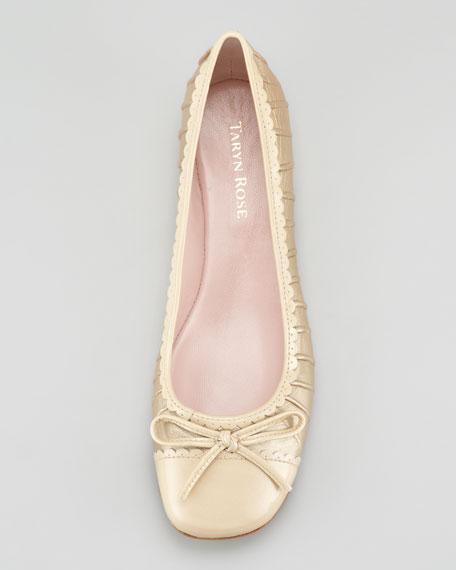 Bambi Ruched Ballerina Flat