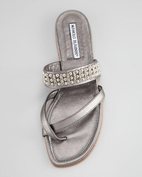 Susaball Beaded Toe-Ring Sandal