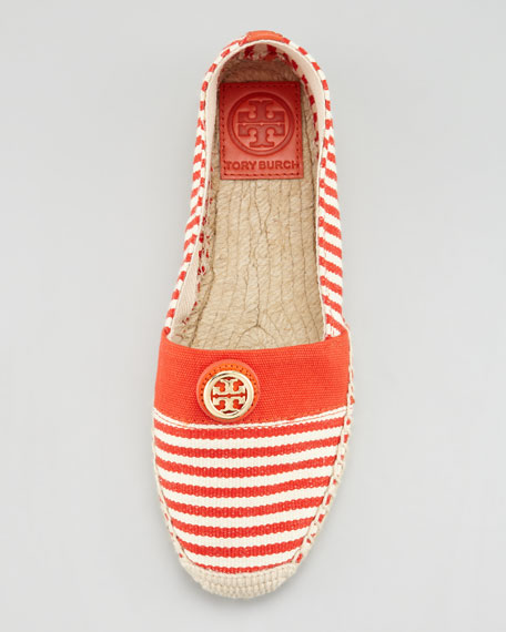 Beacher Canvas Logo Espadrille