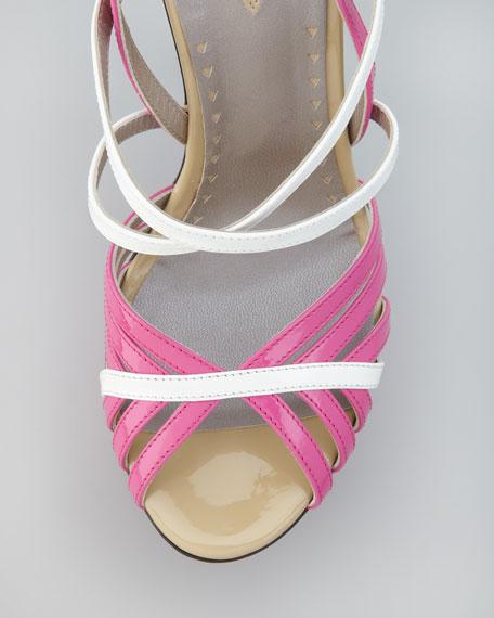 Strappy Colorblock Sandal