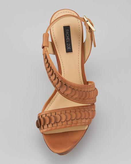 Eryn Asymmetric Sandal, Camel