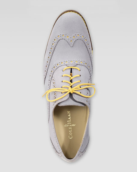 Gramercy Nubuck Oxford, Rooftop/Sunlight