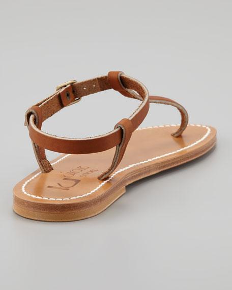 Petrone Interchangeable-Strap Thong Sandal