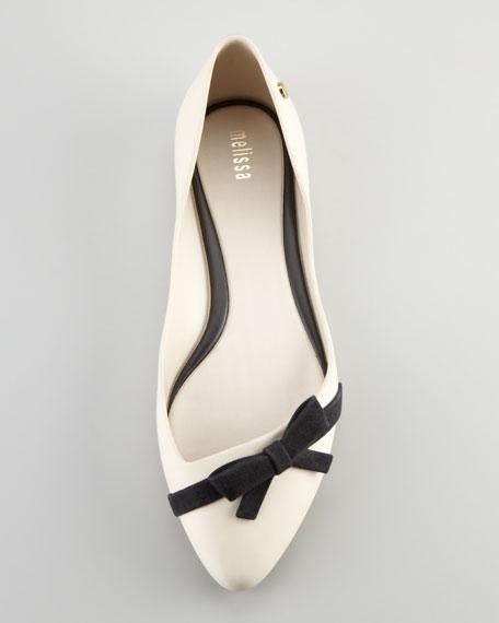 Trippy Bow Jelly Skimmer, White