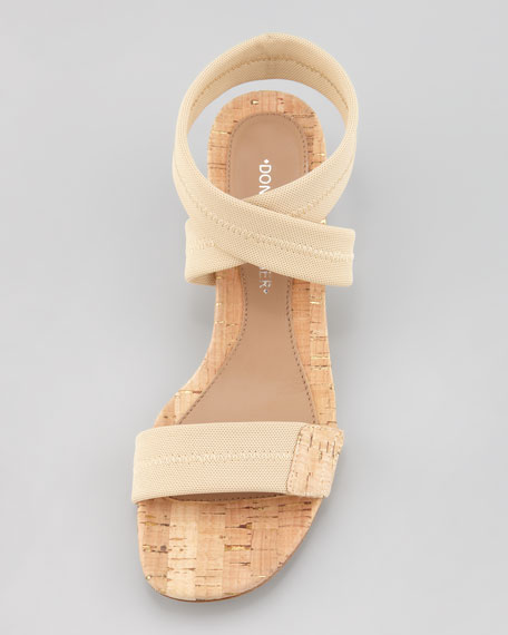 Halina Stretch Ankle-Wrap Sandal