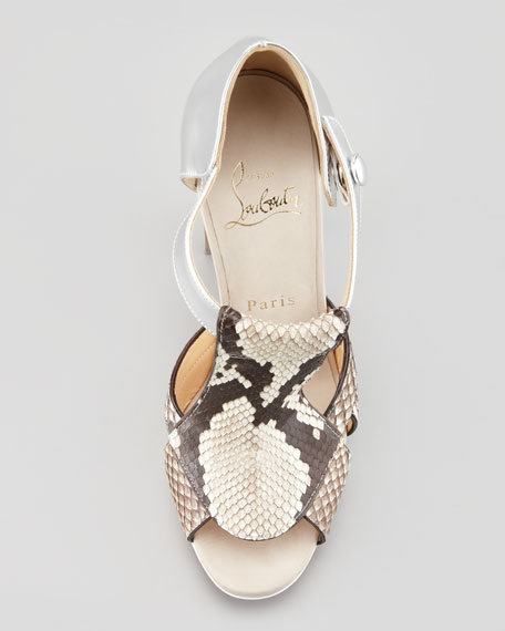 Tably Python T-Band Sandal