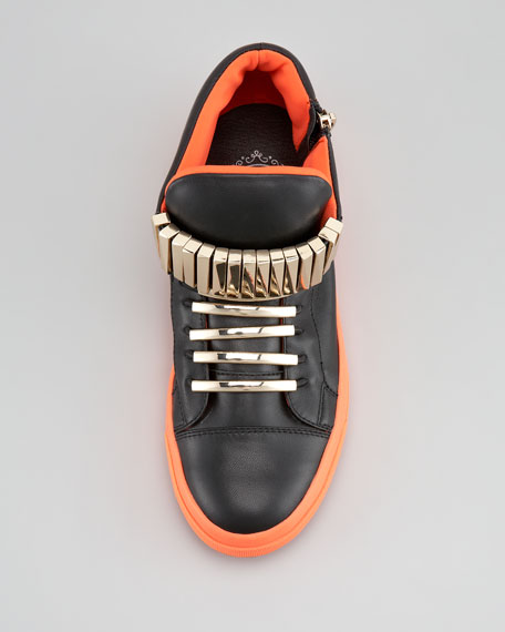 Patric Sneaker, Black Orange