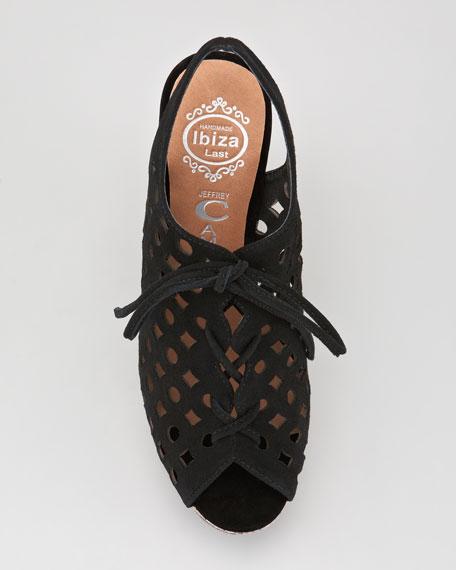 Kris Suede Platform Sandal