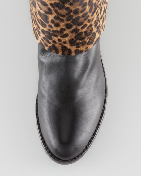 BG 111th Anniversary Pantalon Calf Hair & Leather Boot