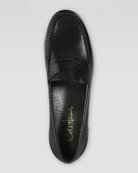 Laurel Penny Loafer, Black