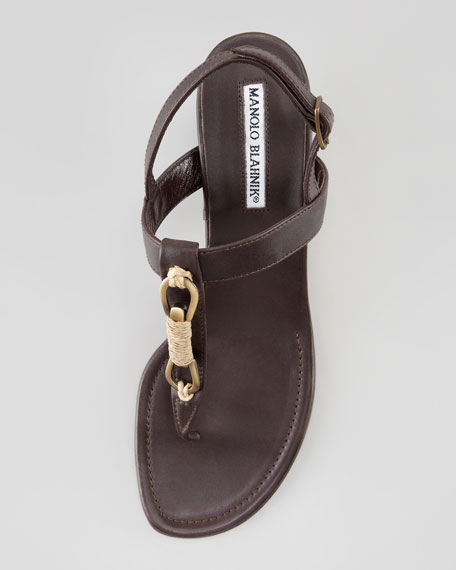 Maretrimod Thong Sandal, Brown