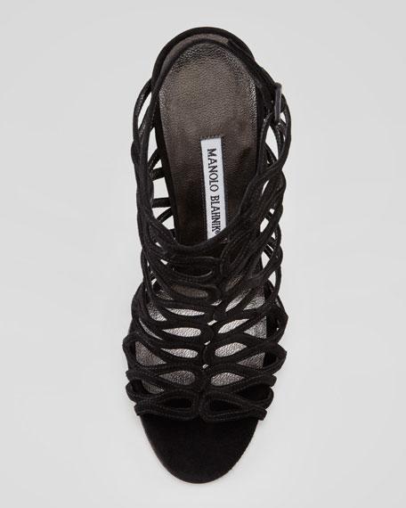 Coddila Strappy Suede High-Heel Sandal