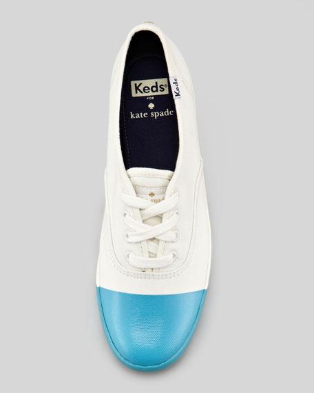 Keds Dipped Cap-Toe Kick Sneaker, Cobalt