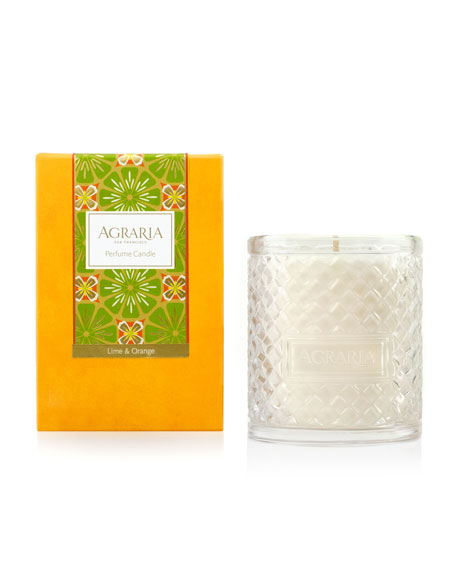 Agraria Lime & Orange Blossoms Woven Crystal Perfume