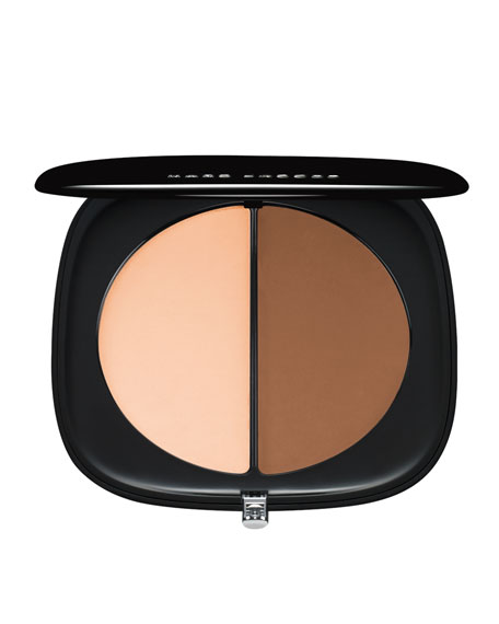 Image 1 of 2: #Instamarc Light Filtering Contour Powder Compact