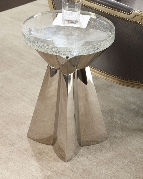 Bernhardt Anika Round Chairside Table