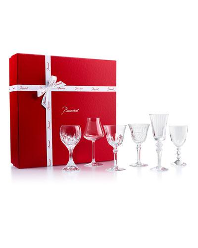 Box of Assorted Wine Glasses  Set of 6