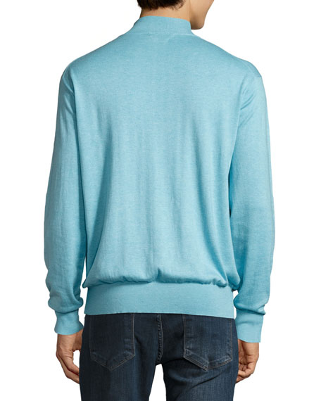 Crown Soft Quarter-Zip Pullover Sweater