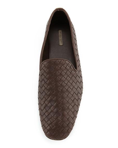 Woven Leather Slipper