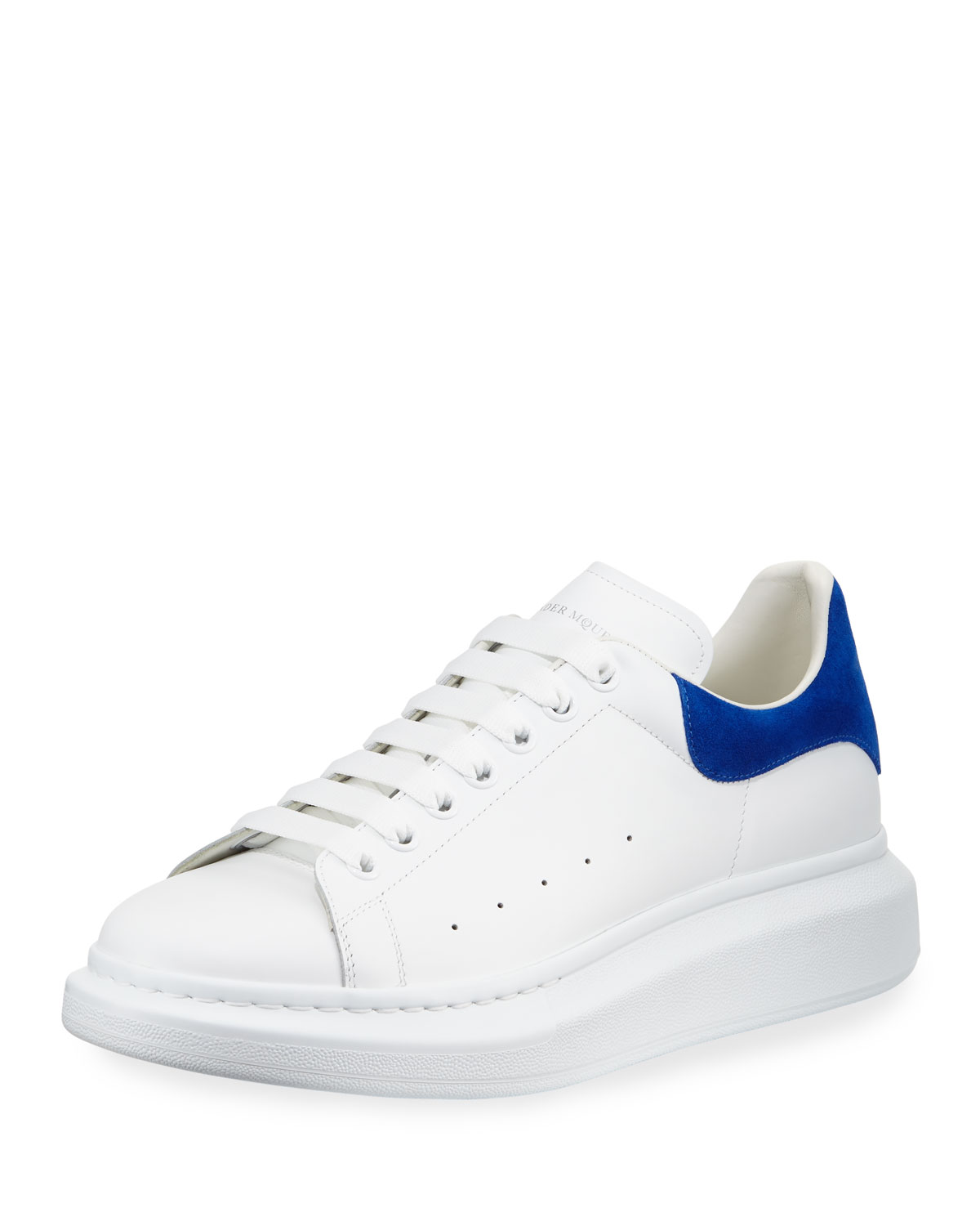 Suede low-top trainers Alexander McQueen 25UdW