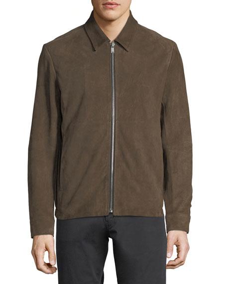 Amorim Suede Blouson Jacket