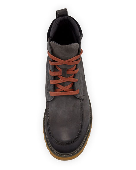 Image 2 of 3: Sorel Men's Madson Moc-Toe Waterproof Leather Hiker Boots