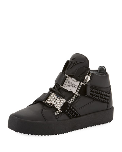 Men's Limited Edition Tribute to Michael Jackson High-Top Sneakers