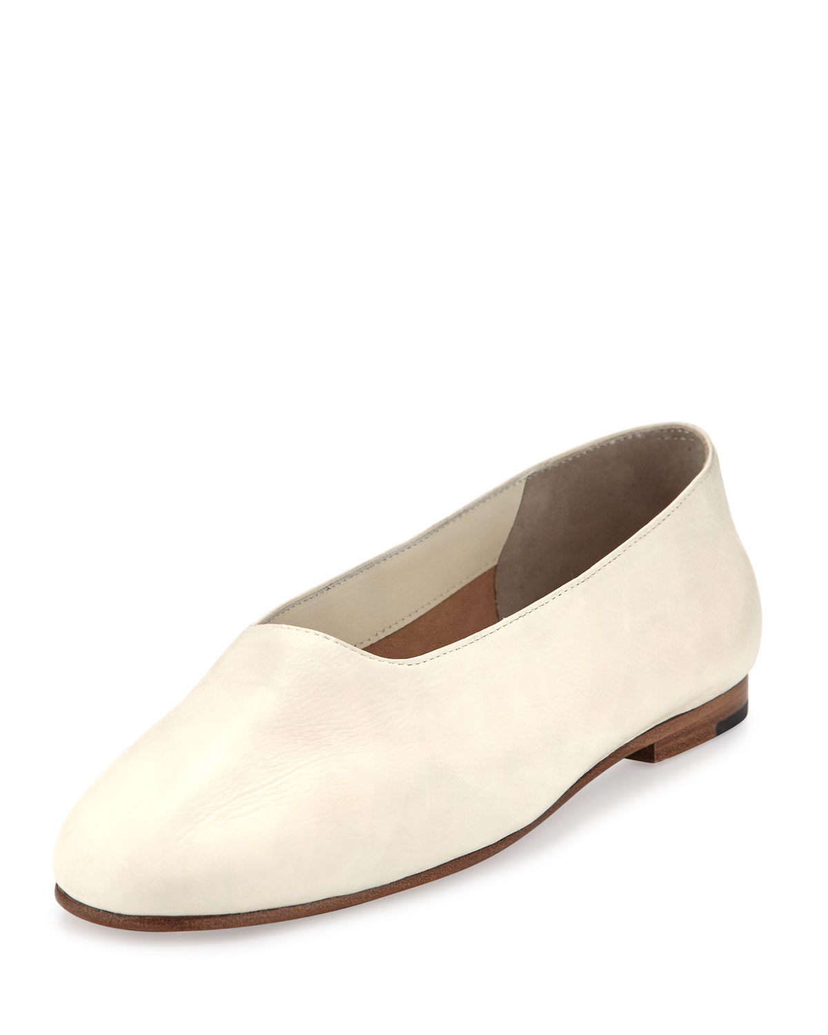 a76c73129 Vince Maxwell Leather Flat | Neiman Marcus