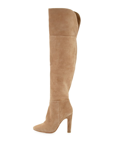 Bentlee Suede Over-the-Knee Boot