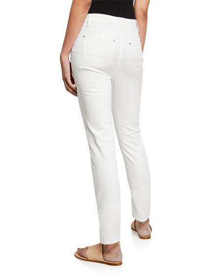Curvy Slim-Leg Jeans