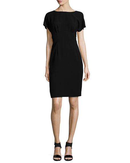 Lafayette 148 New York Marion Short-Sleeve Sheath Dress
