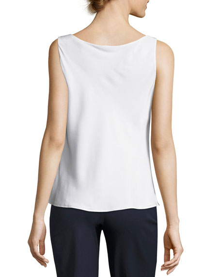 Charmeuse Silk Bias Tank