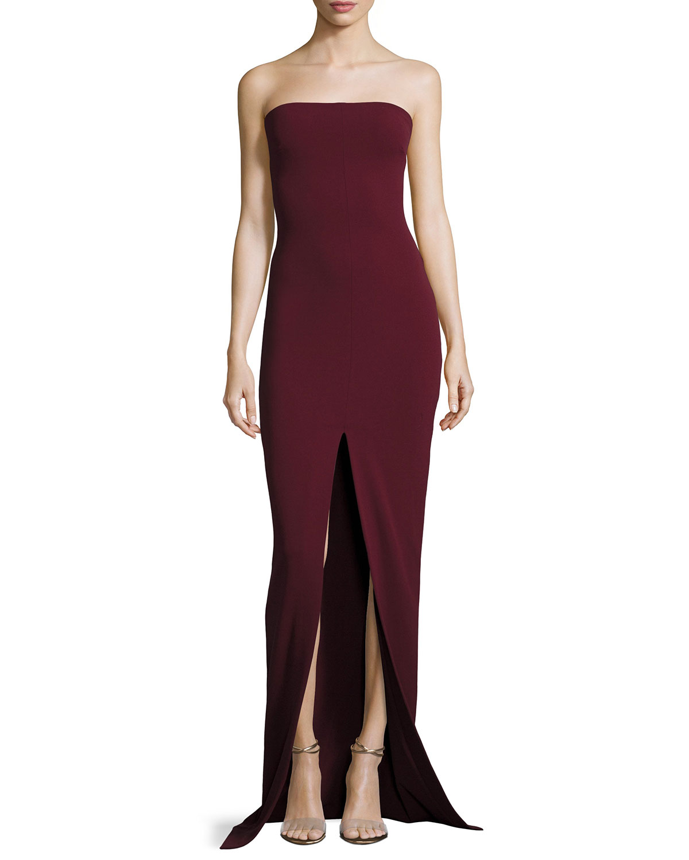 Solace London Bysha Strapless Maxi Dress | Neiman Marcus