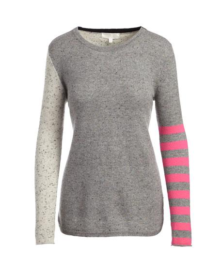 Lisa Todd Pop Rocks Cashmere Striped Sweater