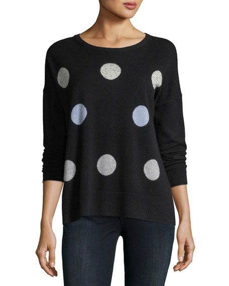 Hot Spots Cashmere Sweater