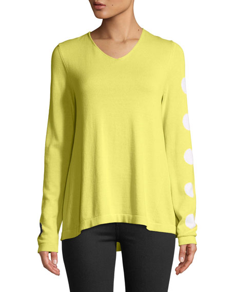 Lisa Todd Save Me a Spot Sweater, Petite