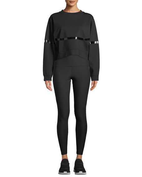 Nylora Chloe Mesh Panel Activewear Leggings
