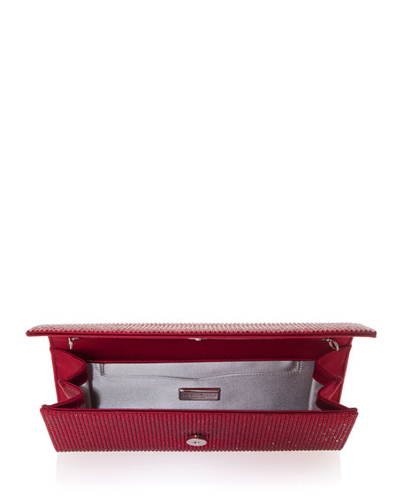 Image 2 of 3: Judith Leiber Couture Ritz Fizz Crystal Clutch Bag