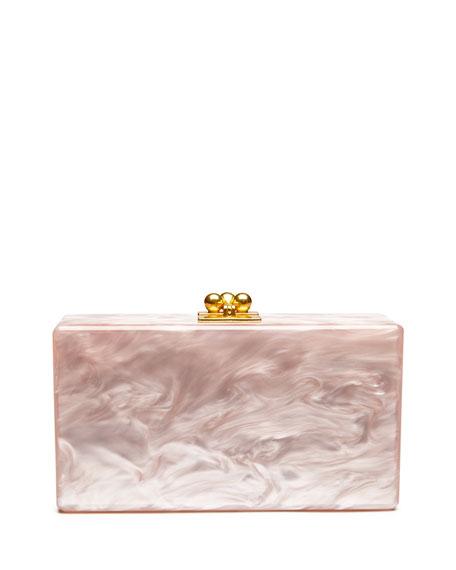 Jean Solid Acrylic Clutch Bag