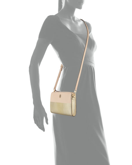 Perry Colorblock Wallet Crossbody Bag