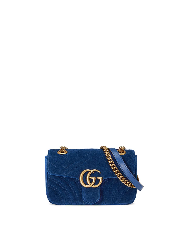 bb4b03d6d18 Gucci GG Marmont Velvet Mini Bag