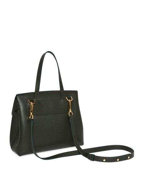 Mansur Gavriel Mini Lady Saffiano Satchel Bag