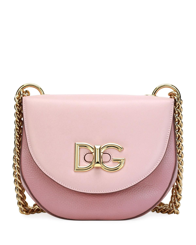 48a969a11800 Dolce   Gabbana Wifi Calf Leather Shoulder Bag