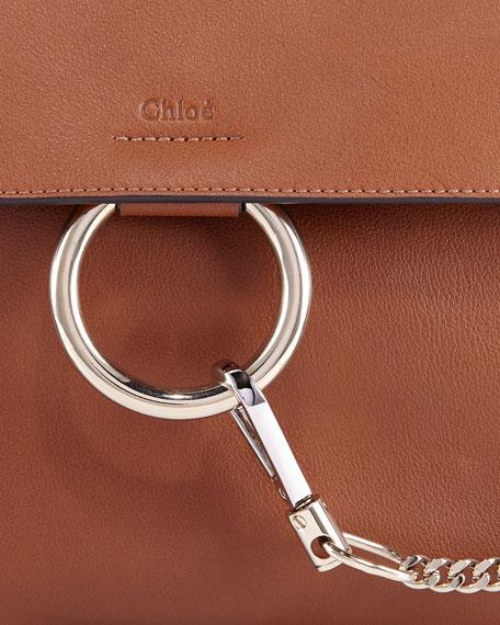 Chloe Faye Day Mixed Flap Medium Shoulder Bag